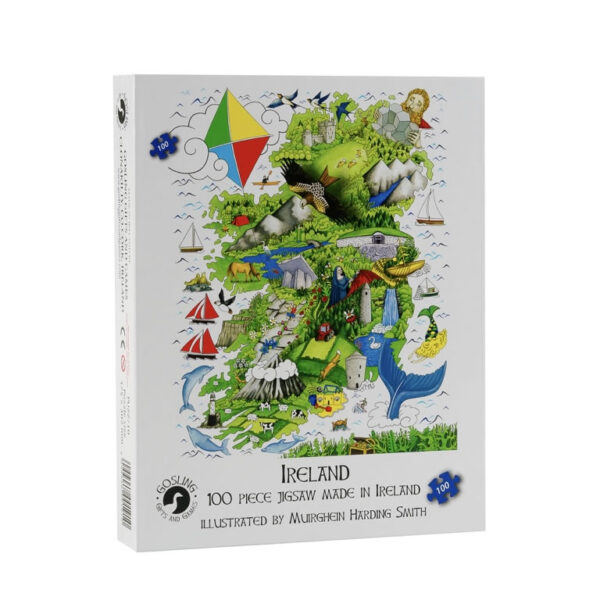 Junior Ireland 100 Piece Puzzle